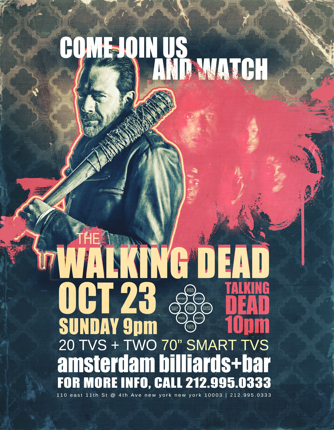 Come Join Us and Watch The Walking Dead